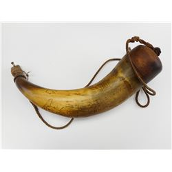POWDER HORN W/ROPE