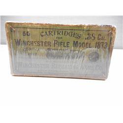 WINCHESTER .38 CAL AMMO BOX