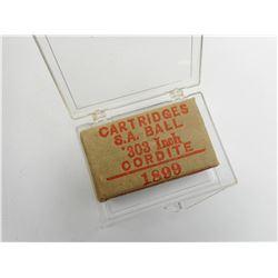 .303 INCH CORDITE COLLECTOR BOX
