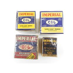 IMPERIAL SHOTGUN SHELL COLLECTOR BOXES