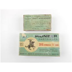 PIONEER AND WINANS AND SINNOCK COLLECTOR AMMO BOXES