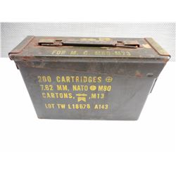 METAL AMMO TIN