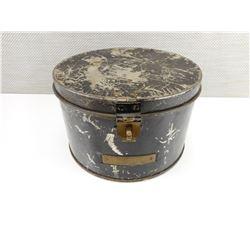WWII RCN HAT BOX METAL ROUND TIN