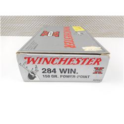 FACTORY WINCHESTER 284 WIN AMMO