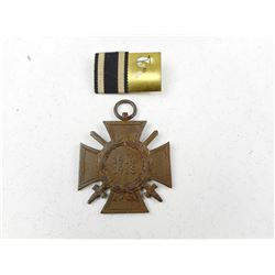 GERMAN WWI COMBATANT MEDAL WITH RIBBON