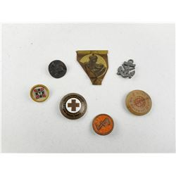 ASSORTED GERMAN MILITARY PINS