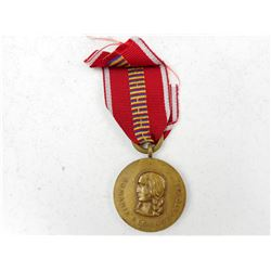 ROMANIAN WWII EASTERN FRONT MEDAL WITH RIBBON