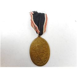 GERMAN WWI VETERANS MEDAL WITH RIBBON
