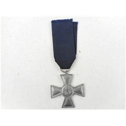 GERMAN WWII SERVICE MEDAL WITH RIBBON