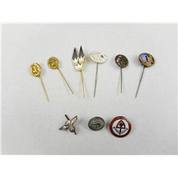 GERMAN WWII PINS & STICK PINS