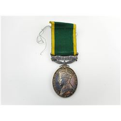 CANADIAN WWII EFFICIANCY MEDAL WITH RIBBON