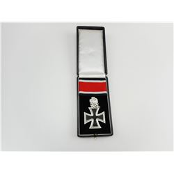 GERMAN WWII KNIGHTS CROSS WITH RIBBON & CASE REPRODUCTION