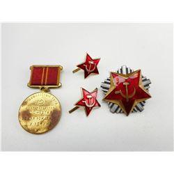 USSR/RUSSIAN MEDAL & PINS
