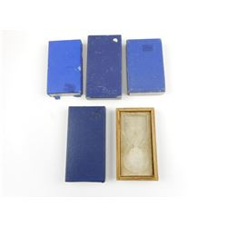 ASSORTED EMPTY MEDAL BOXES