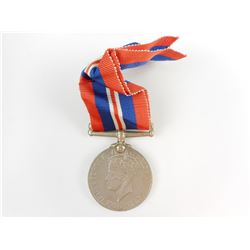 NAMED WWII 1939-1945 WAR MEDAL