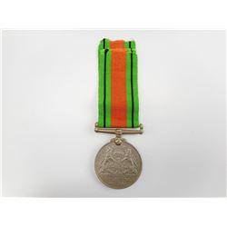 NAMED WWII 1938-1945 DEFENCE MEDAL