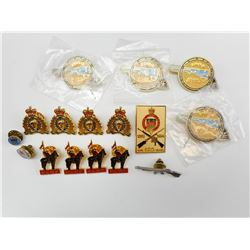 ASSORTED RCMP & LCA PINS