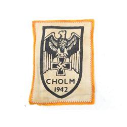 GERMAN CHOLM 1943 WWII BADGE