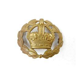 BRITISH ARMY WARRENT OFFICER HAT BADGE