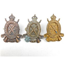 CANADIAN INFANTRY CORPS CAP BADGES