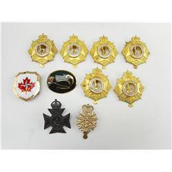 CANADIAN CAP BADGES & PINS