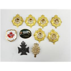 CANADIAN CAP BADGES & PINS