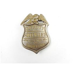 DEPUTY SHERIFF CHEST SHIELD