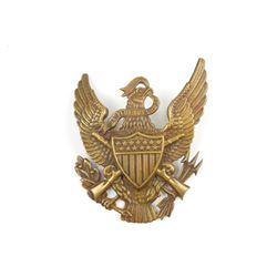 U.S. INFANRY BRASS EAGLE HELMET PLATE