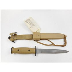 U.S M10 COMBAT KNIFE WITH SHEATH & FROG