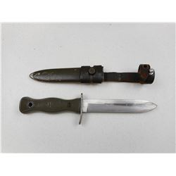 GERMAN ARMY KNIFE WITH SHEATH