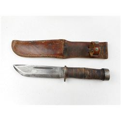 CATTARAUGUS FIGHTING KNIFE WITH SHEATH