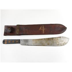 WWII CANADIAN MARTINDALE MACHETE, WITH SHEATH