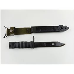 DUTCH NWM BAYONET WITH SCABBARD