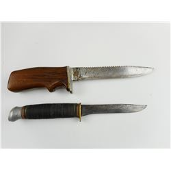 ASSORTED MILITARY TYPE KNIVES