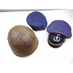 MILITARY OFFICER'S CAP, BERET & HELMET