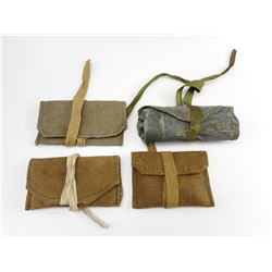ASSORTED MILITARY CLEANING KITS