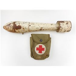 INERT MORTOR WITH FIRST AID POUCH