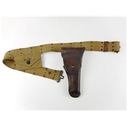U.S. WI/II COLT 1911 HOLSTER WITH BELT & POUCH