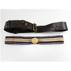 ASSORTED MILITARY BELTS
