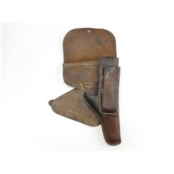 GERMAN WWII LEATHER HOLSTER