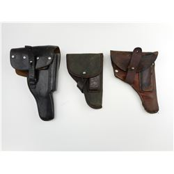 ASSORTED MILITARY HOLSTERS