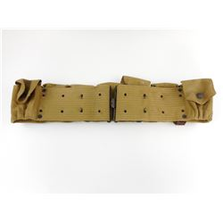 U.S. MILITARY CANVAS 1903 PATTERN CAVALRY CARTRIDGE BELT