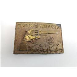 VINTAGE S&W BUCKLE
