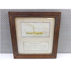1ST CANADIAN STEAMBOAT FRAMED PRINT