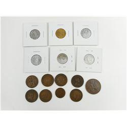 VINTAGE CANADIAN & U.S. COINS