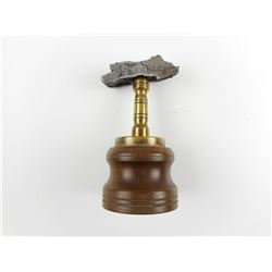 TRENCH ART PAPER WEIGHT