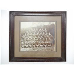 WWI 8TH (CITY OF LONDON) REGIMENT (POST OFFICE RIFLES) FRAMED PHOTO