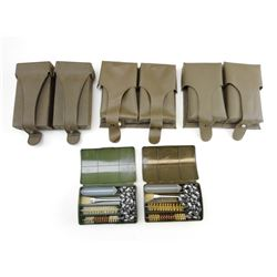ASSORTED MAGAZINE POUCHES & CLEANING KITS