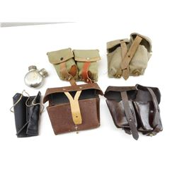 ASSORTED AMMO POUCHES