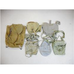 ASSORTED BAGS & POUCHES